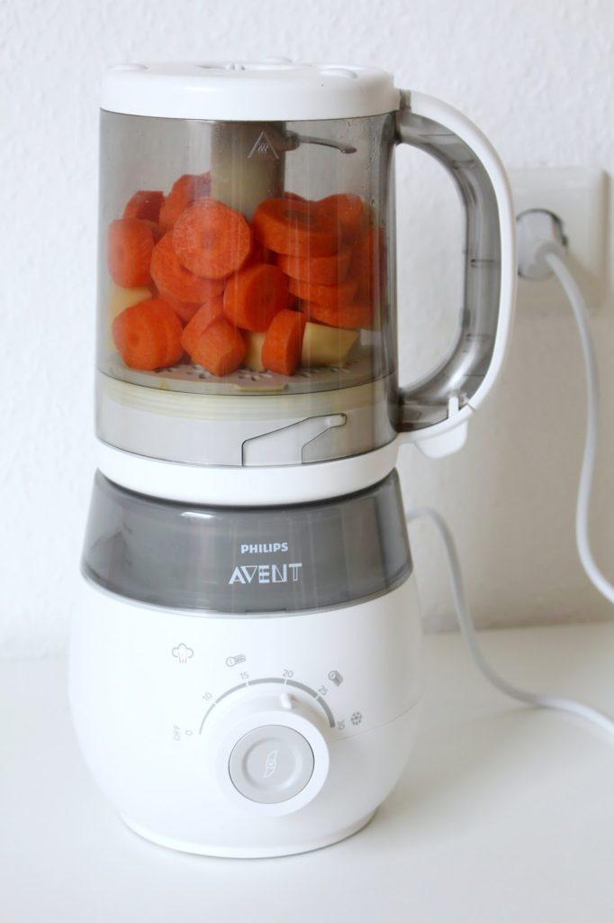 Philips Avent 4-in-1 Babynahrungszubereiter Dampfgarer