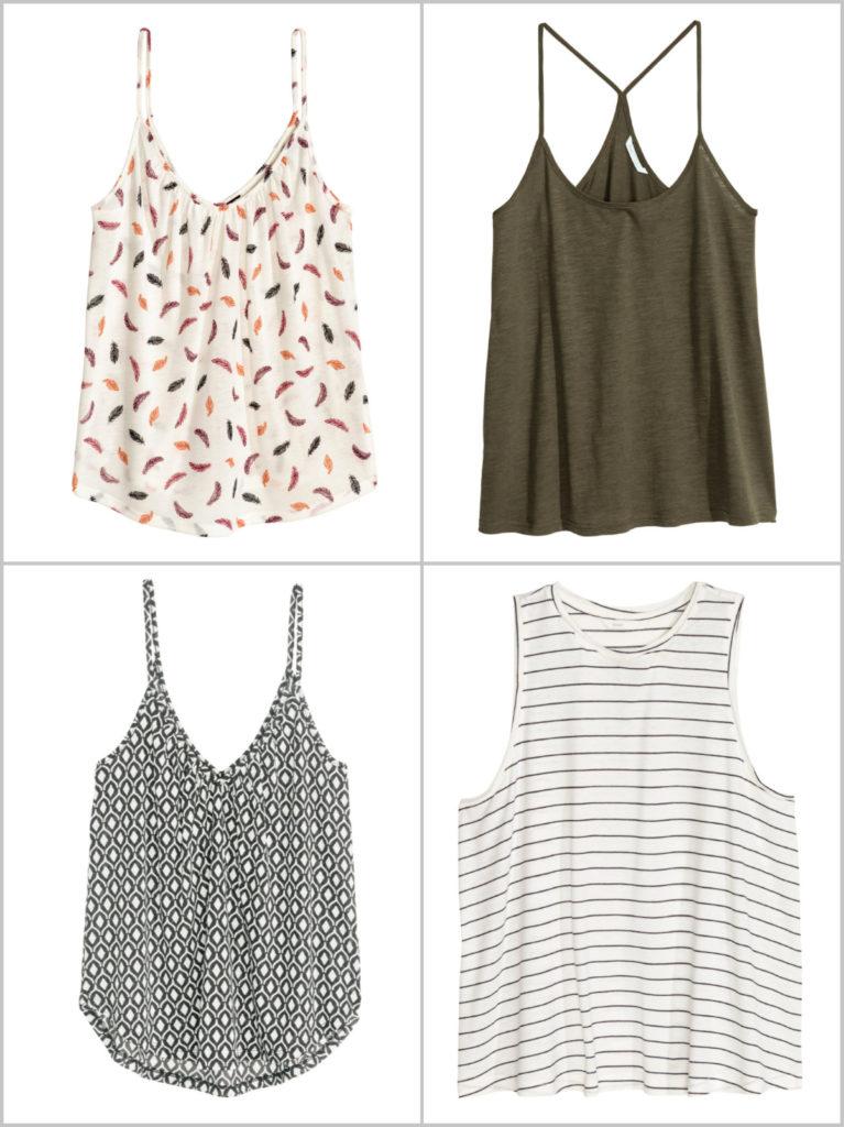Oberteile Tops Sommer Garderobe