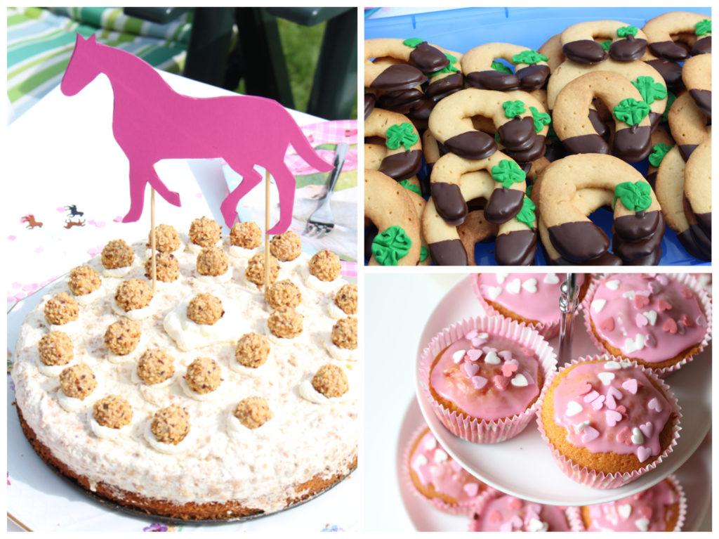 4. Geburtstag Pferde Kuchen