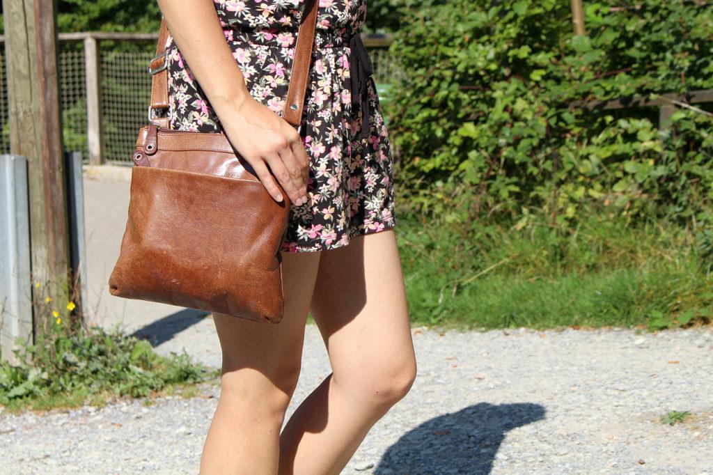 Sommeroutfit Tasche