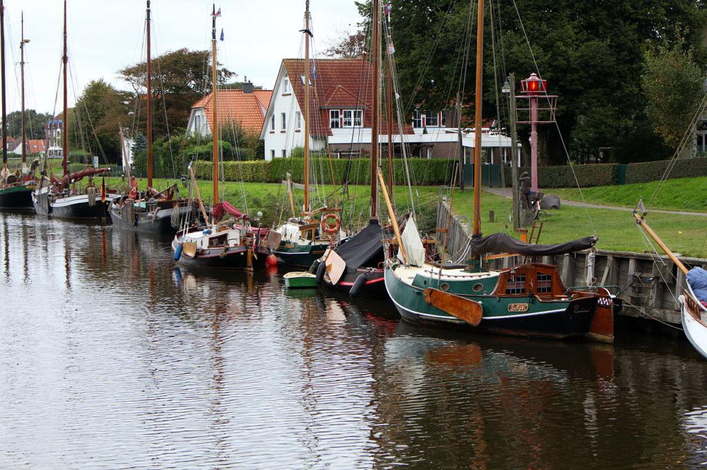 Boote in Harlesiel