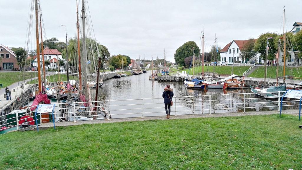 Carolinensiel Hafen Boote